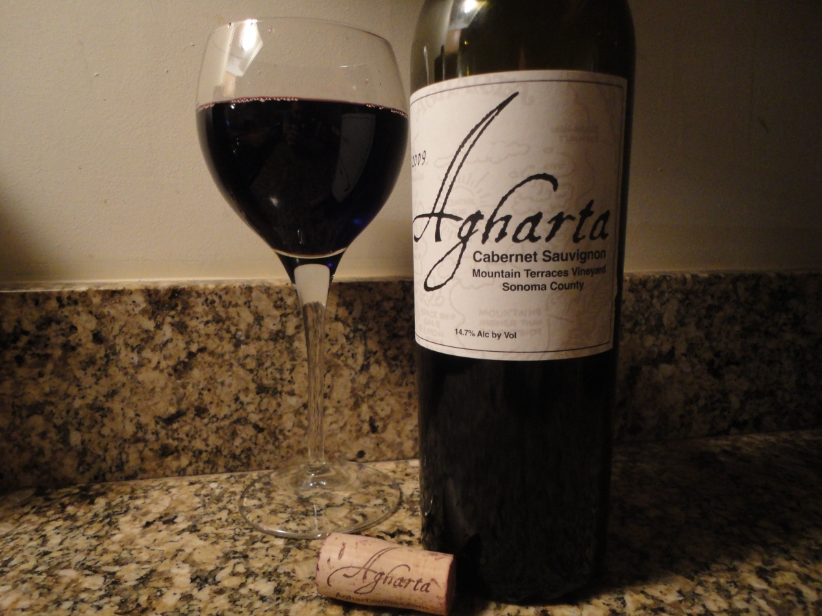 "A wine you should know ""Collector's Edition""... 2009 Agharta ""Mountain Terraces Vyd"" Cabernet Sauvignon."