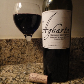 "A wine you should know ""Collector's Edition""… 2009 Agharta ""Mountain Terraces Vyd"" Cabernet Sauvignon."
