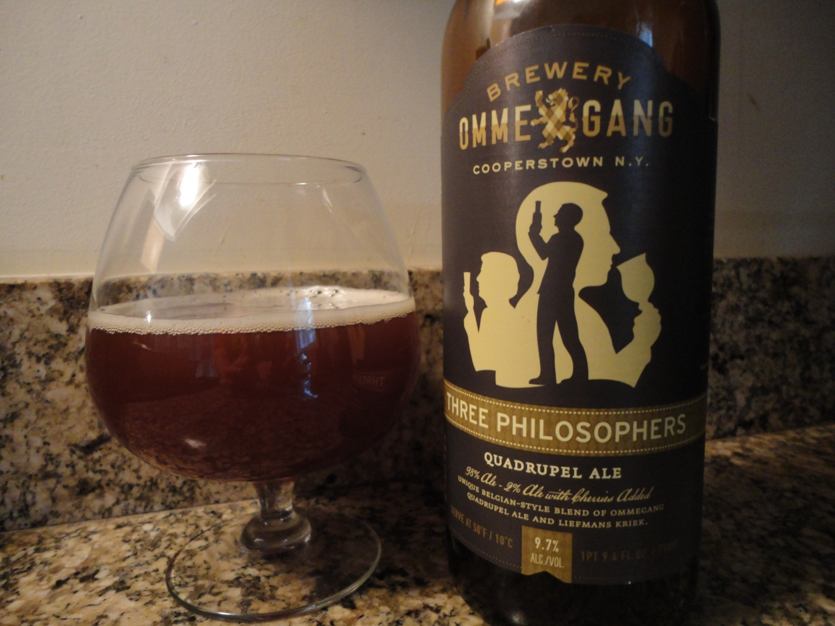 A beer you should know... Three Philosophers by Ommegang