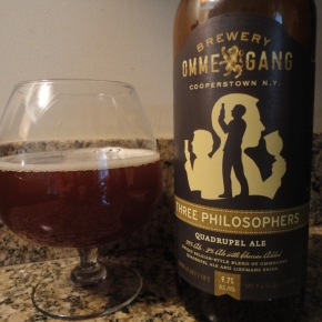 A beer you should know… Three Philosophers by Ommegang