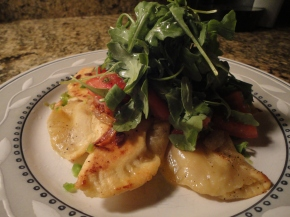 Not your Grandma's pierogies… recipe and pairings