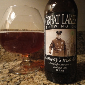 A beer you should know… Conway's Irish Ale by Great Lakes Brewing Co.