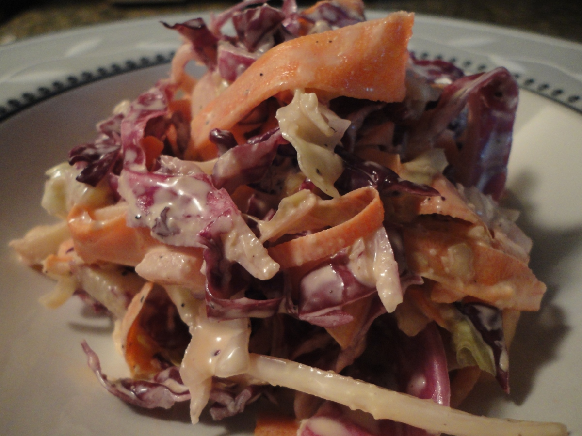 My famous slaw... get ready for summer!
