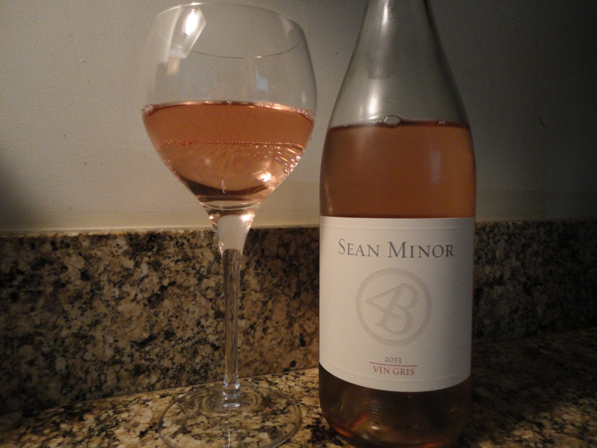 "A wine you should know... Sean Minor ""Four Bears"" Vin Gris"
