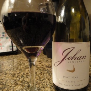 A wine you should know… Johan Vineyards Estate Pinot Noir