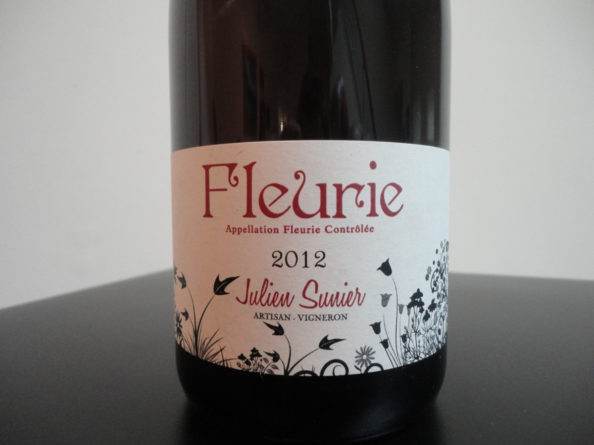 A wine you should know... Julien Sunier's Fleurie