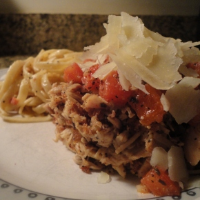 Not your typical chicken parm… recipe and pairings