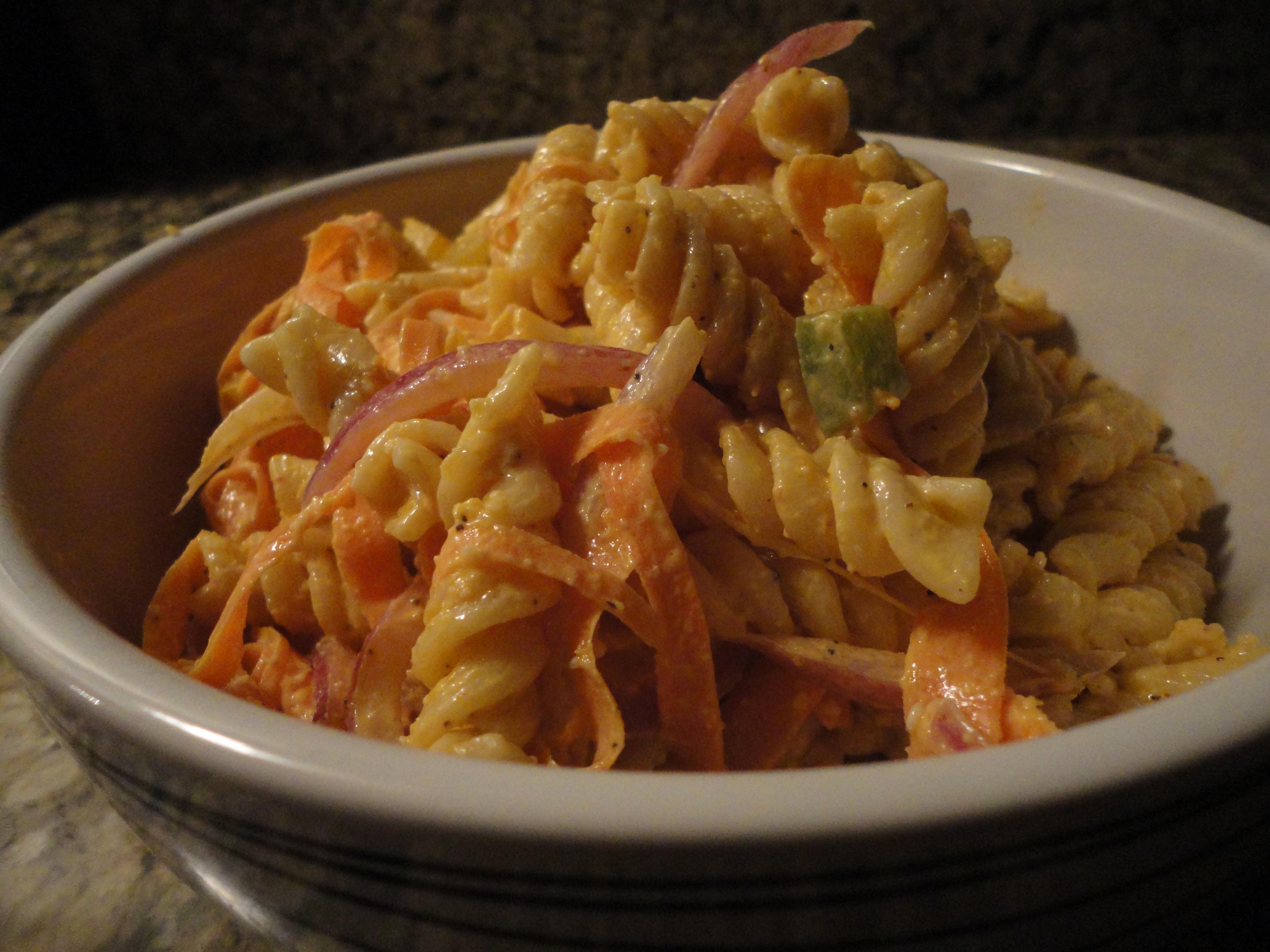 Spicy pasta salad recipes easy