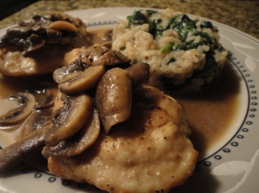 Chicken Marsala… recipe and pairings