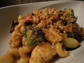 Pasta Primavera with Chicken… recipe and wine pairings