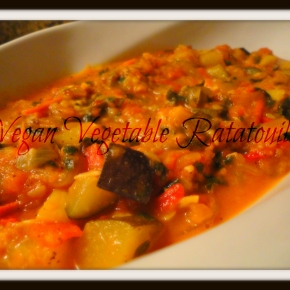 Vegan Vegetable Ratatouille