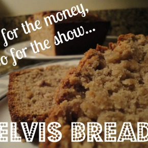 Elvis Bread… banana, peanut butter & bacon!