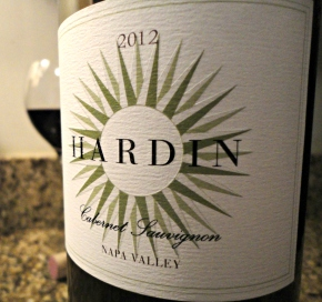 A wine you should know… 2012 Hardin Cabernet from Napa