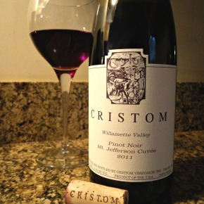 A wine you should know… 2011 Cristom Pinot Noir Mt. Jefferson Cuvée