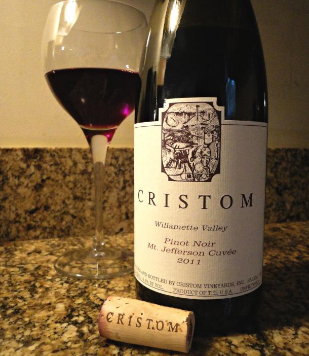Cristom Pinot Noir 2011, Mt. Jefferson Cuvee
