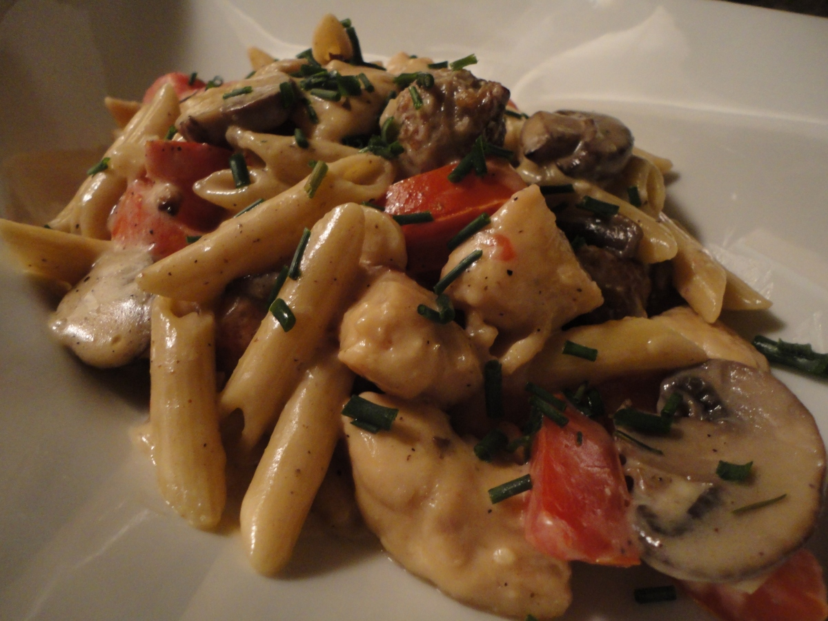 Pasta Marco Pollo... recipe and wine pairings