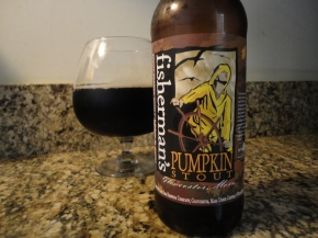 A beer you should know… Fisherman's Pumpkin Stout