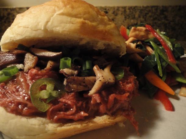 Asian Pulled Pork Sandwich