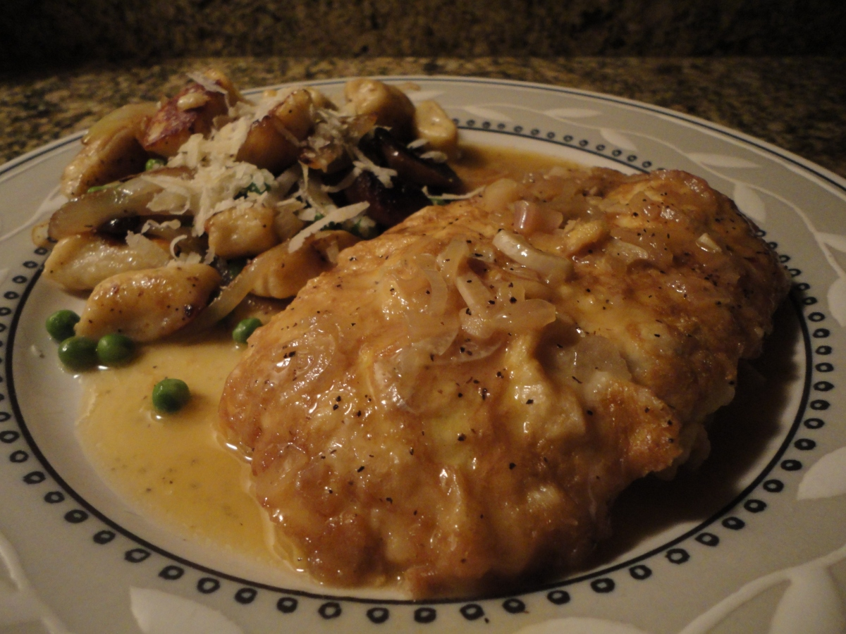 Chicken Francaise... recipe and wine pairings