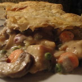 Puff Pastry Chicken Pot Pie