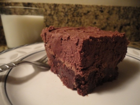 Fudge Frosted Brownies… beyond decadent!