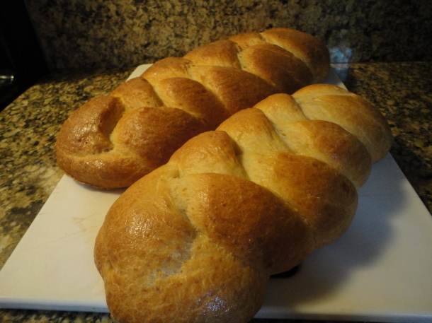 Parmesan Egg Bread
