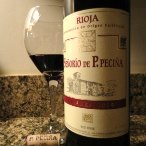 A wine you should know… 2009 Hermanos de Pecina Crianza