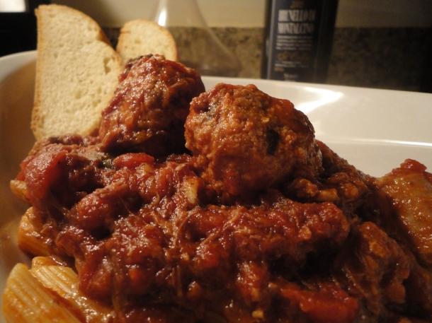 Ricotta Herb Meatballs