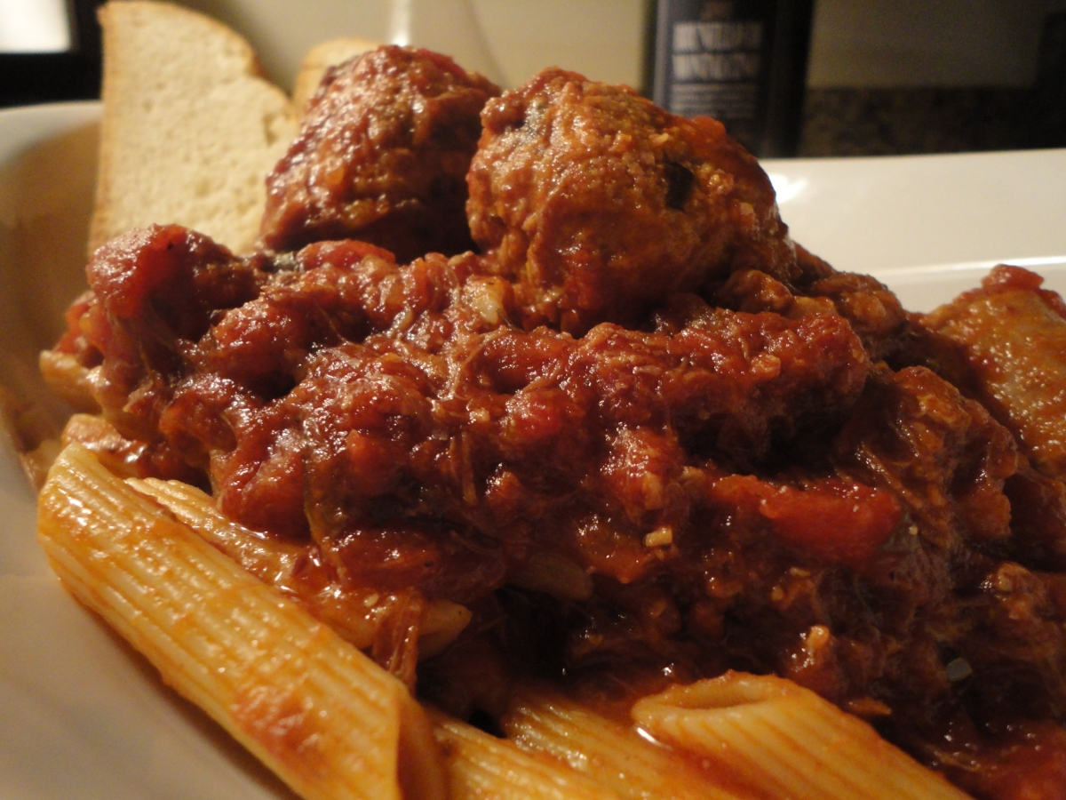 My famous Sunday Sauce... recipe and wine pairings