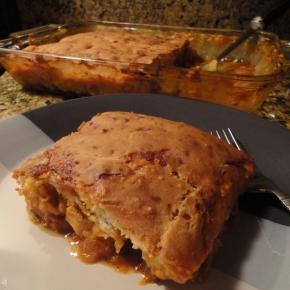 Cheesy Chicken FajitaCasserole