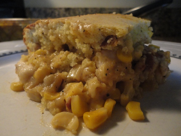 Chicken, Bacon & Corn Casserole