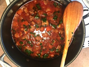 Traditional Spanish Pork and Chickpea Stew… recipe and winepairings