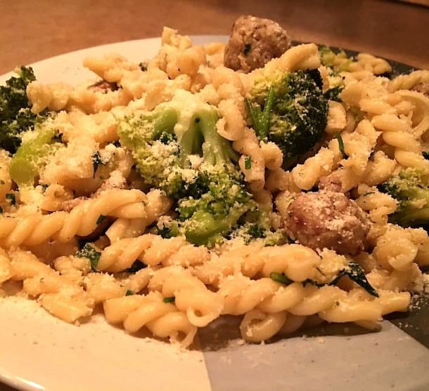 gemelli-and-broccoli-with-sausage