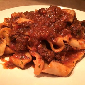 Tagliatelle Bolognese… recipe and wine pairings