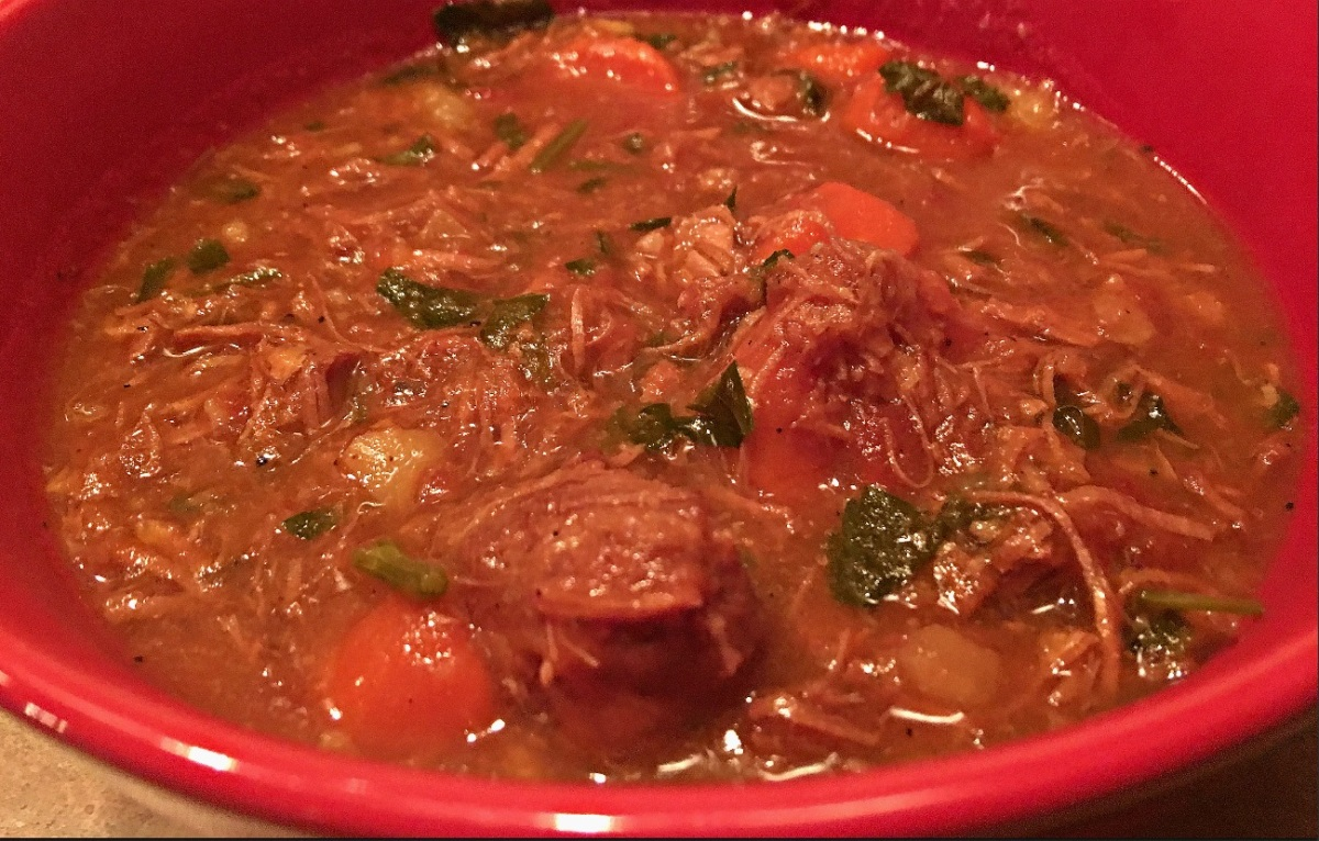Rustic Pork Stew... recipe and wine pairings
